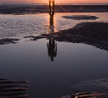 """Anthony Gormley Another Place """"Where the sun don't shine"""" by Phiggys"""