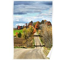 Country Road Display Poster