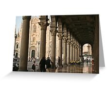 Under the arches Greeting Card
