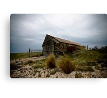 The Old Boat Shed Canvas Print