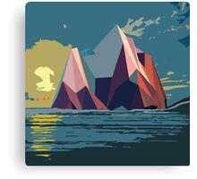 Night Mountains No. 4 Canvas Print