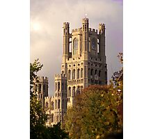 Ely Cathedral Tower (UK) Photographic Print