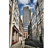 London old and new Photographic Print