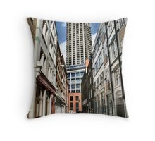 London old and new Throw Pillow