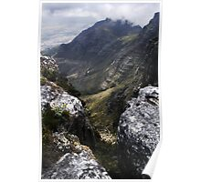 Slopes of Table Mountain Poster