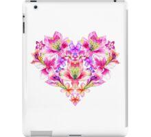 Heart of flowers iPad Case/Skin