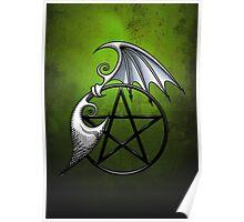 Pentacle Wings Poster