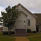 Scobey Montana United Methodist Church by Bryan D. Spellman