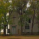 Wibaux Montana United Methodist Church by Bryan D. Spellman