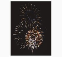 Fireworks One Piece - Short Sleeve