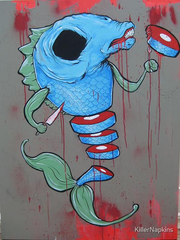 Suicidal Sushi by KillerNapkins