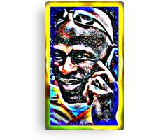 Cell Phone Will Canvas Print