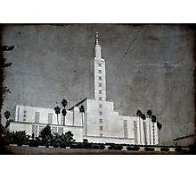 Los Angeles Temple Photographic Print
