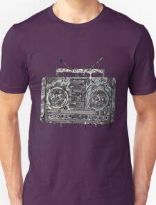 Boom Box Gray T-Shirt