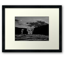 They are always watching Framed Print