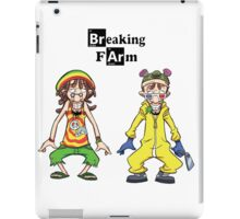 Breaking Farm evolution iPad Case/Skin