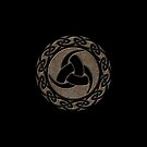 Triple Horn of Odin, Celtic Knot, Triforce, Odin Symbol by nitty-gritty