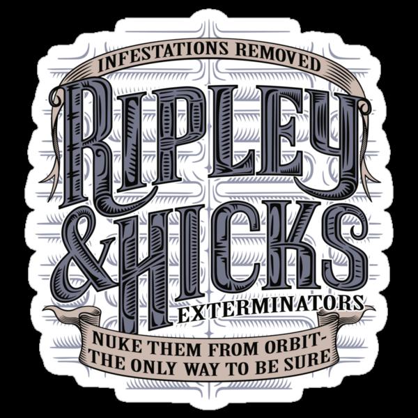 Ripley & Hicks Exterminators by DoodleDojo