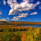 Fall at the Overlook (hdr) by tantricpark182
