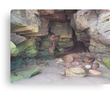 Whitby Cave Canvas Print