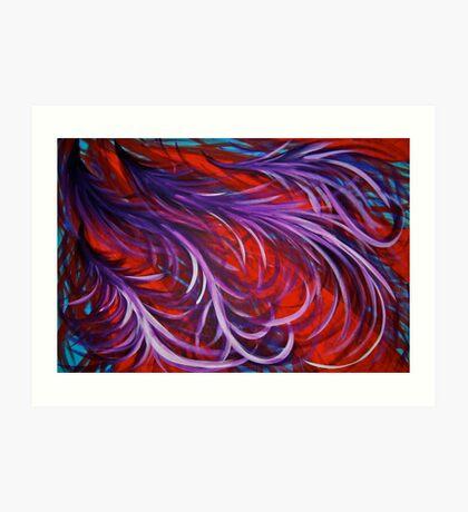 Dancing Phoenix Art Print