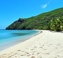 Botaira Beach, Niviti Island by Aaron Murgatroyd
