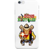 Guns n' bottles iPhone Case/Skin