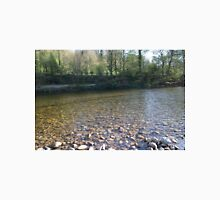 The Pebbled Shore Of The River Swale Unisex T-Shirt