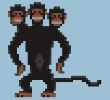 Look behind you! (Monkey Island) One Piece - Short Sleeve