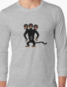 Look behind you! (Monkey Island) Long Sleeve T-Shirt