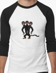 Look behind you! (Monkey Island) Men's Baseball ¾ T-Shirt