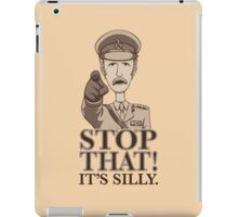 Stop That! iPad Case/Skin