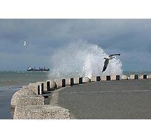 Ocean Splash Photographic Print