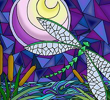 Moonlit Flight by Rhonda Blais