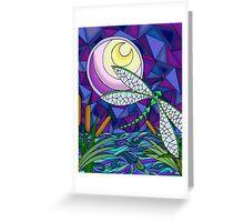 Moonlit Flight Greeting Card