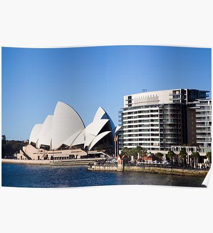 Sydney Opera House & Opera Quay Poster