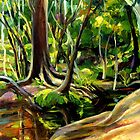 CREEK AT WOLLOMBI-02 by HAMISH CUMING