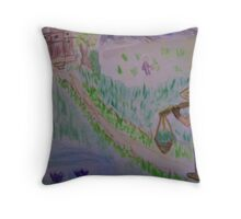 Path To Peace Throw Pillow