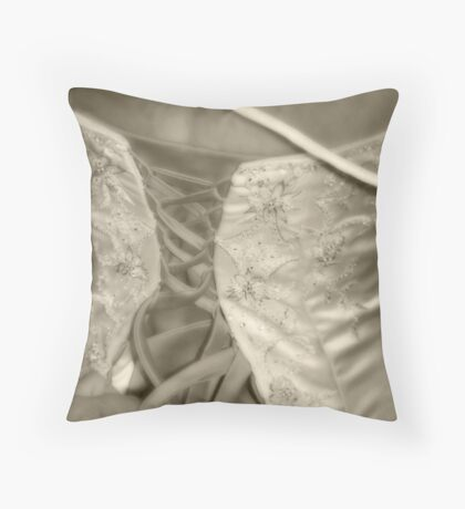 Tying the Knot Throw Pillow