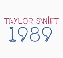 Taylor Swift 1989 Kids Clothes