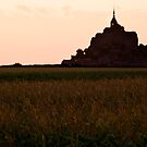 Sunset at Mont St Michell by JimFilmer