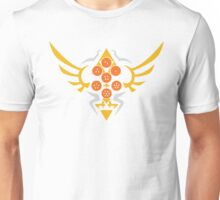 Hylian Dragon Ball Crest (gold & orange) Unisex T-Shirt