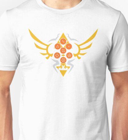 Hylian Dragon Ball Crest (gold & orange) Unisex T-Shirt