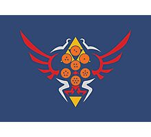 Hylian Dragon Ball Crest (2) Photographic Print