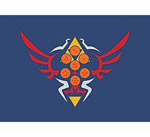 Hylian Dragon Ball Crest Photographic Print