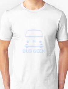 VW Camper Bus Geek Pale Blue Unisex T-Shirt