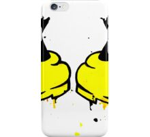 Mickey Mess - Feet iPhone Case/Skin