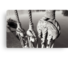 ropes n ting Canvas Print