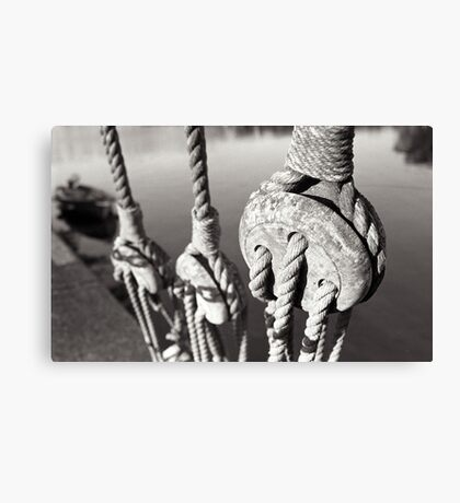 ropes n ting Canvas Print