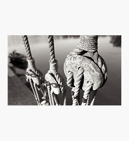 ropes n ting Photographic Print